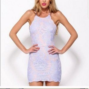 Bedroom whispers lilac dress